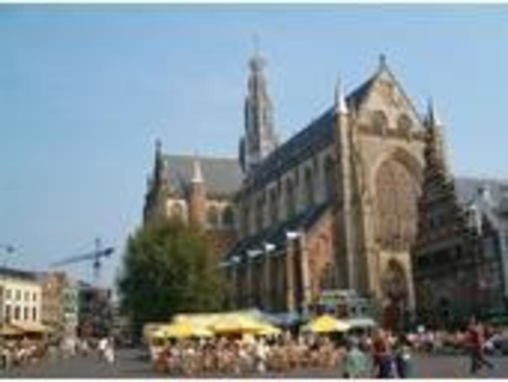 Grote Markt, city centre of Haarlem.