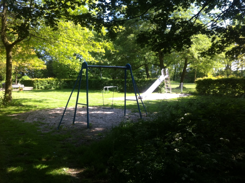 Parc (50 m. from our house), playing ground for children. Also a basketball and soccer field