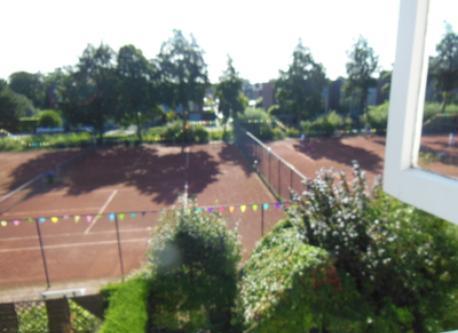 view public tennis court (behind)
