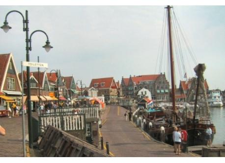 Volendam 20 minutes by car.