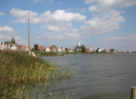 Durgerdam (Waterland) dike houses
