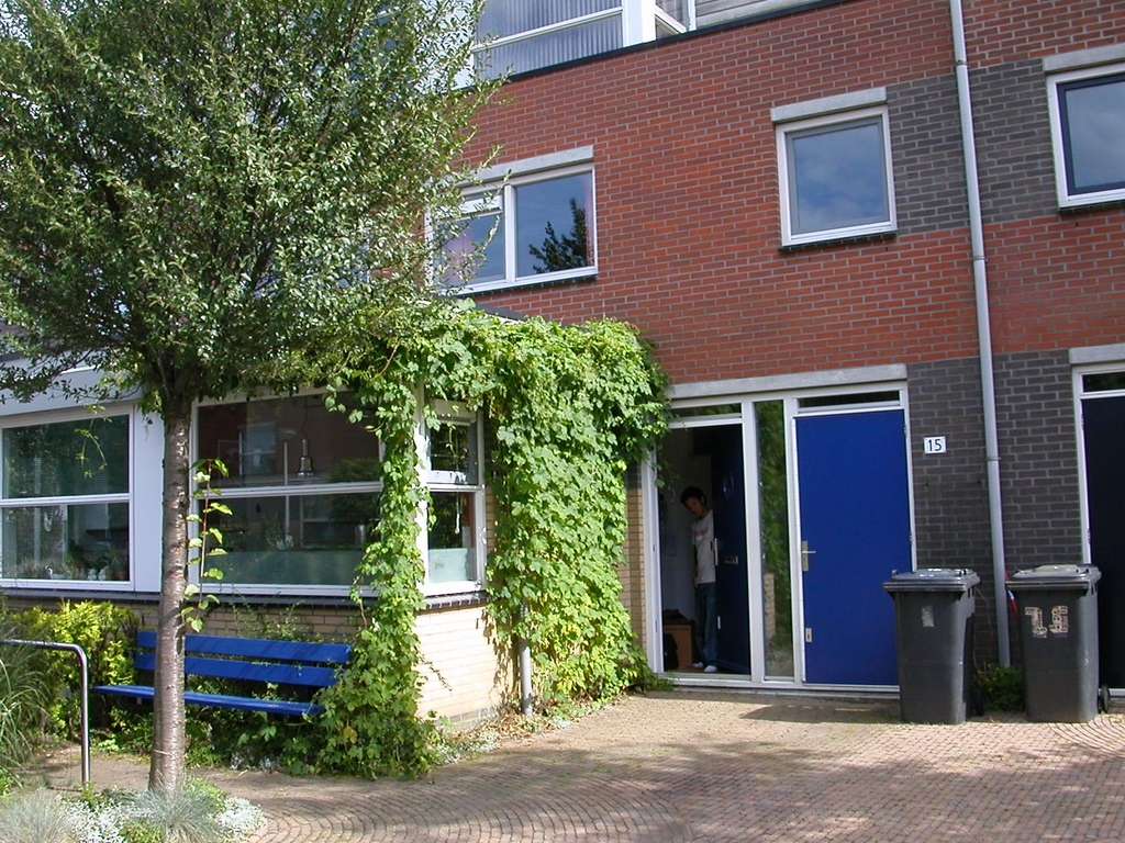 We have a free parking place in front of our house. Most parts of A'dam have paid parking.