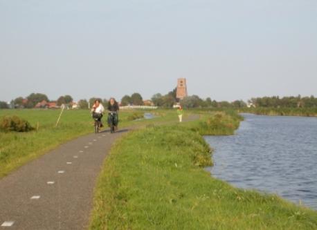 Ransdorp (Waterland) by bike. Nearby.