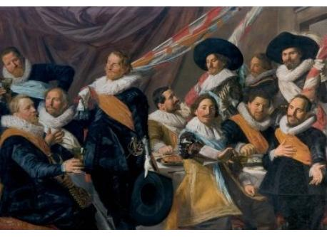 Frans Hals paintings on view in Haarlem