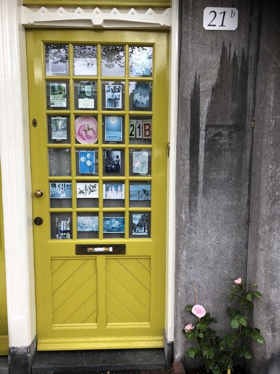 our 'art' frontdoor
