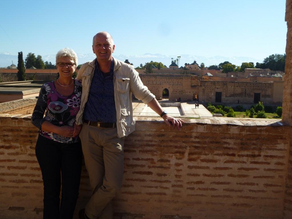 Els & Theo in Marrakech