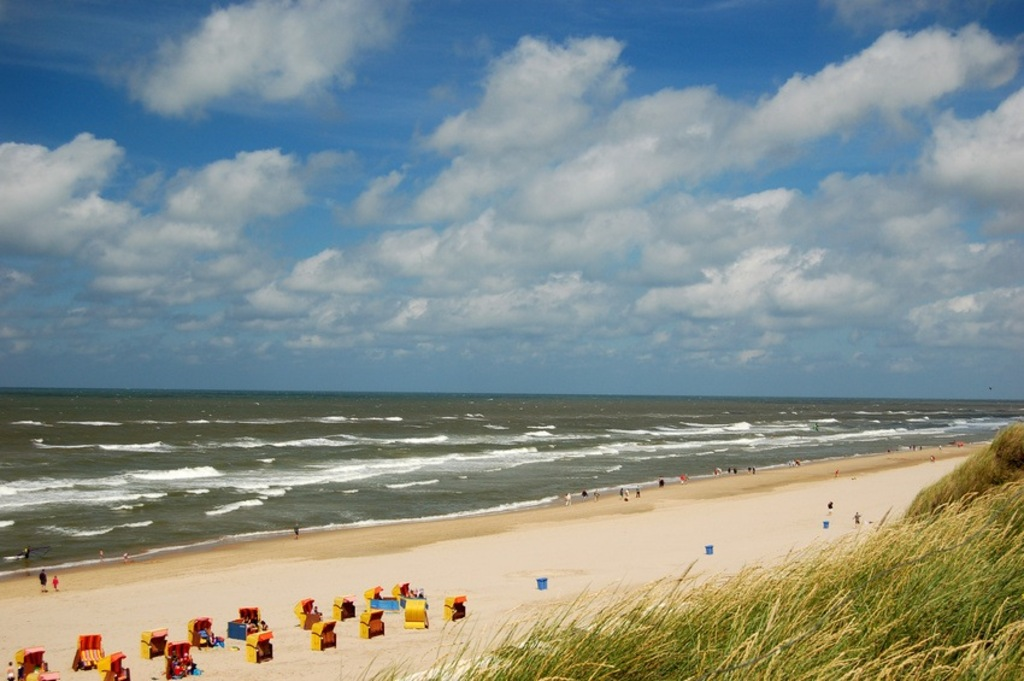 Beach in Egmond near Alkmaar