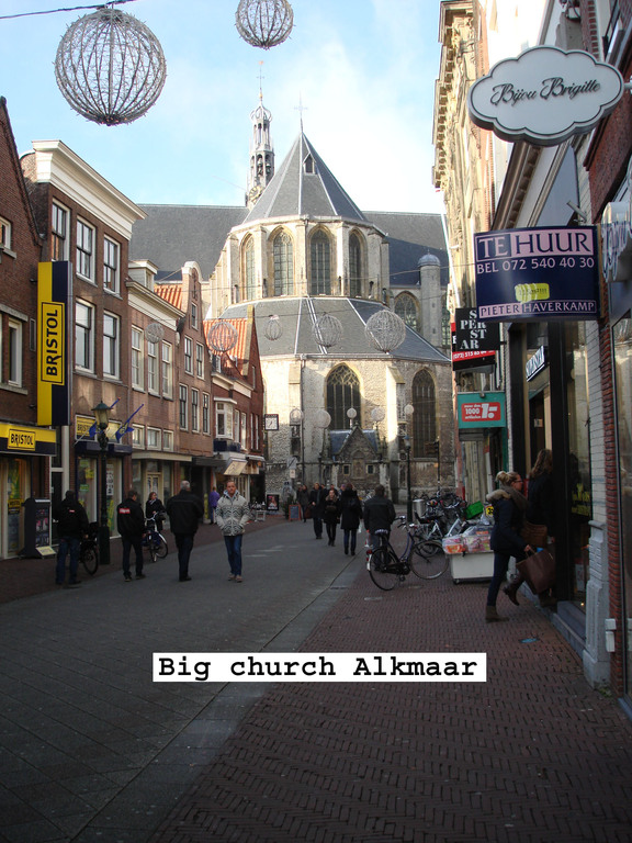 Big church Alkmaar