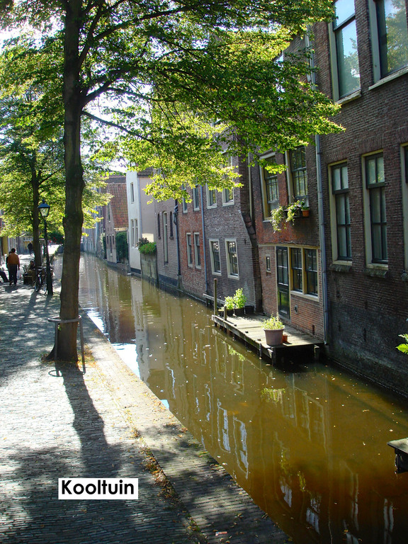 Canal Kooltuin in Alkmaar