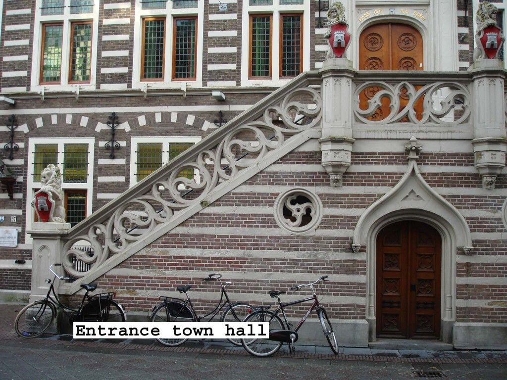 Entrance town hall
