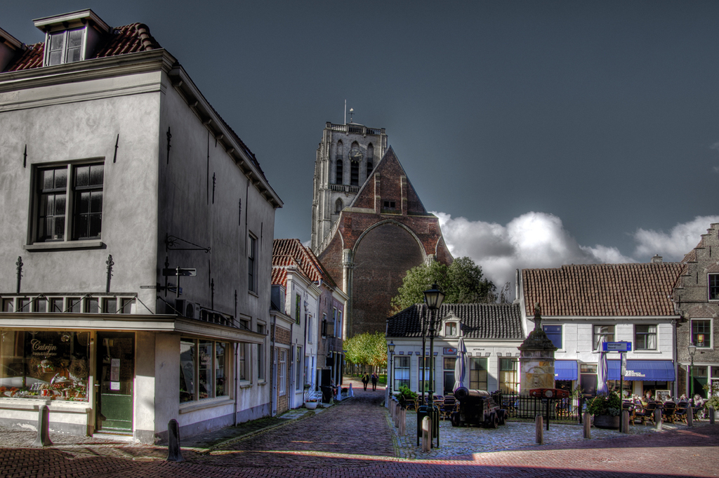 Have a drink at the Wellerondom after climbing the 321 steps to the top of the St.Catharijne church.