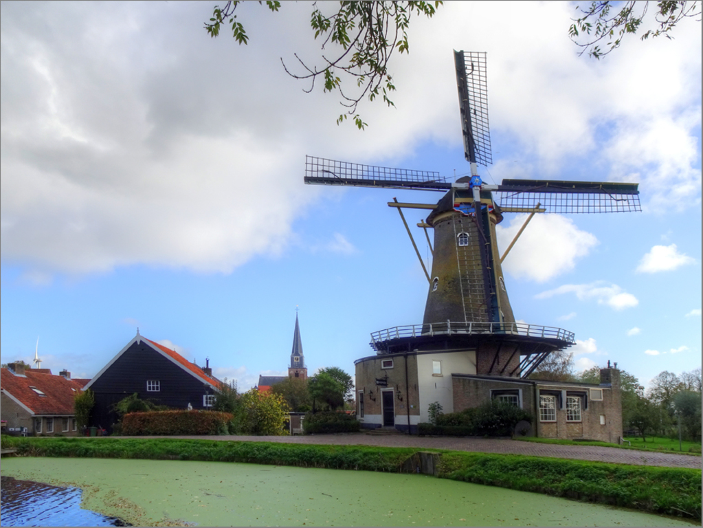 Geervliet, small medieval village.