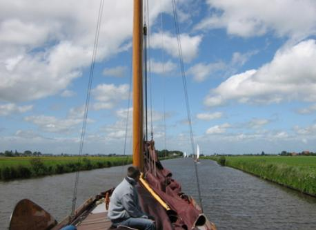 the sailing events in the province North called Fryslan attract many tourist