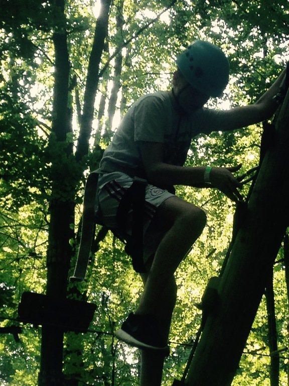 Climbing in the Amsterdamse Bos 2,2 km