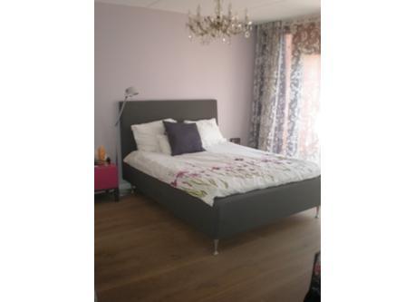 Comfy bed in master bedroom