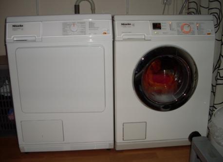 Miele wasmachine en wasdroger