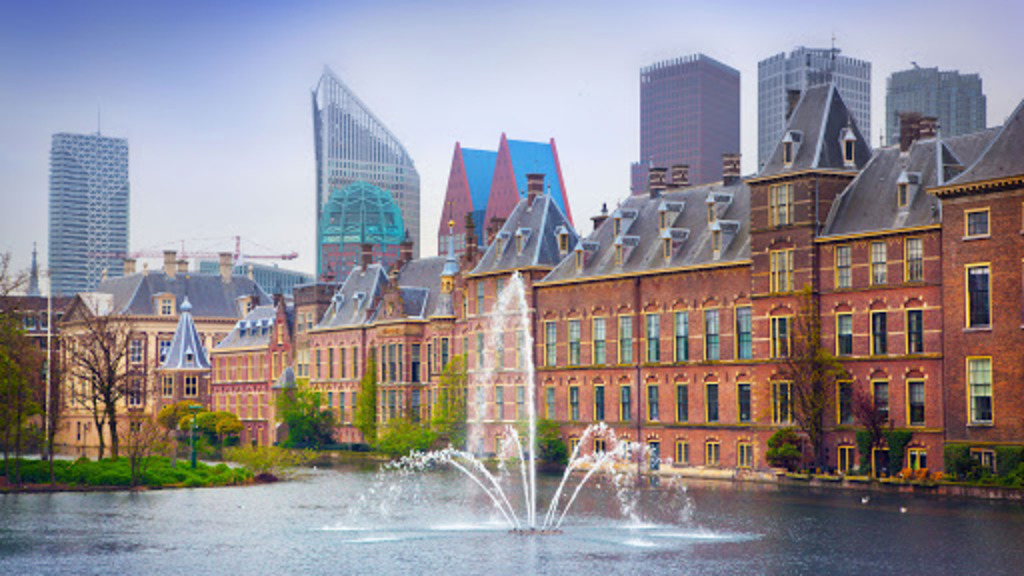 The Hague (55 km), seat of government