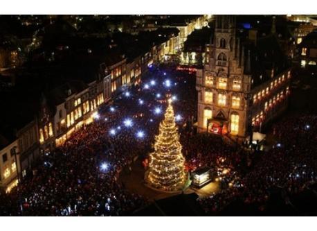 Gouda, town centre, Christmas