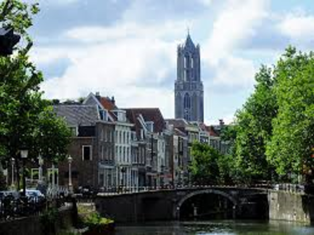 City of Utrecht at 10 km distance
