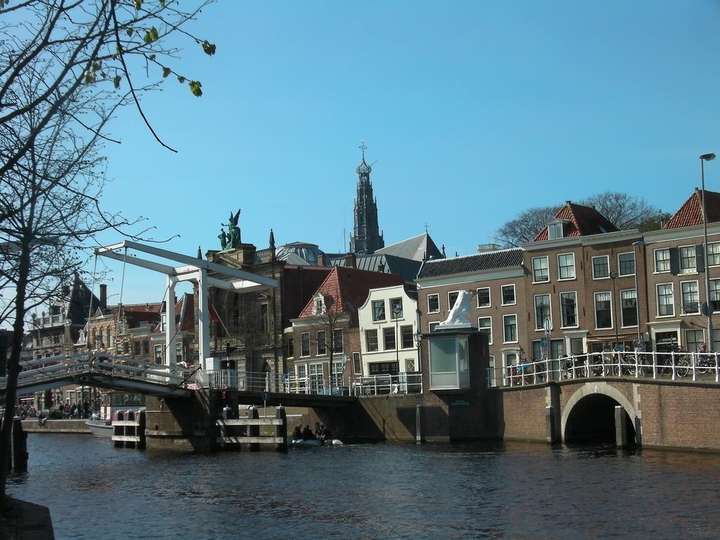 River Spaarne in Haarlem