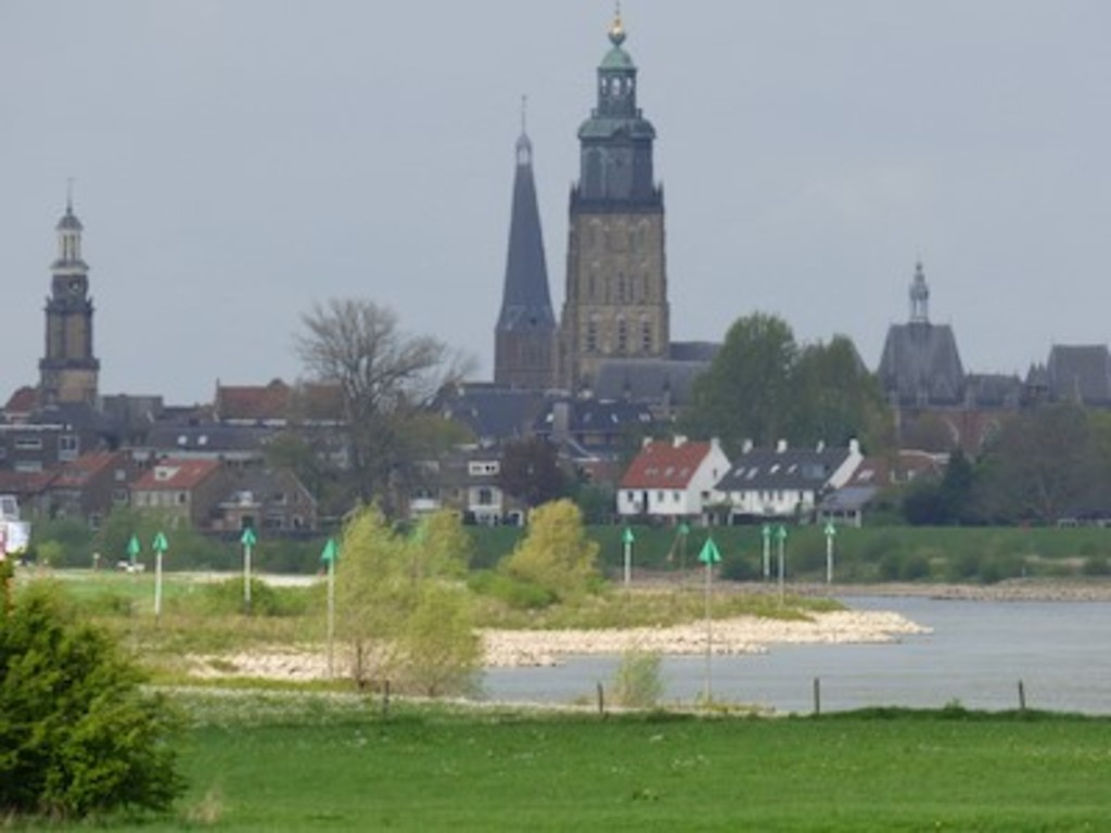 Zutphen and the IJsselriver