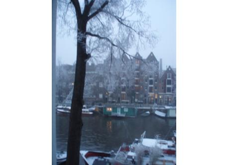 The canals (old center of Amsterdam), 15 minutes by public transport  tram