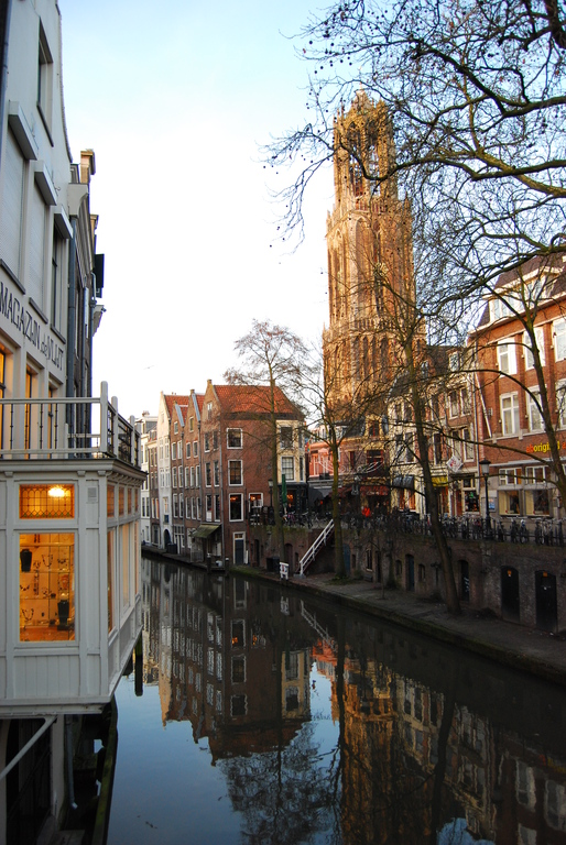 Oude Gracht & Dom tower...