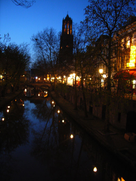 Oude Gracht and Dom tower