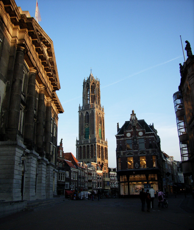 Stadhuisbrug & Dom tower