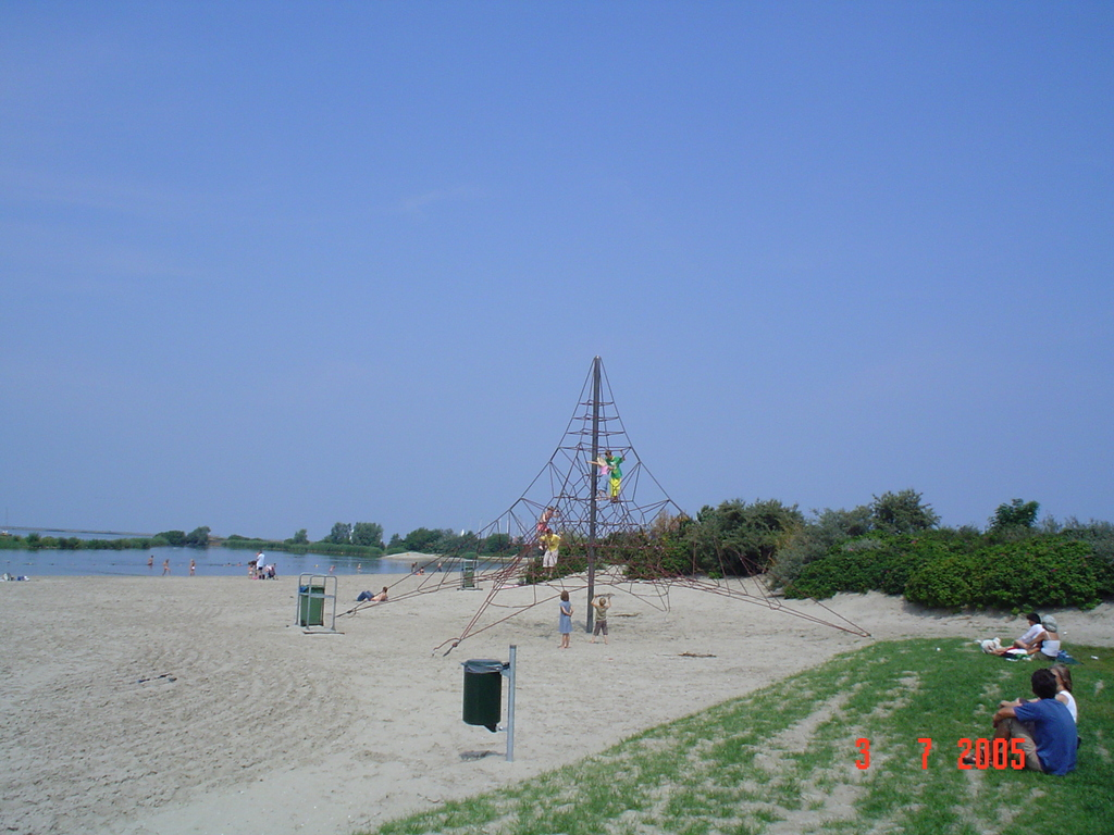 The beach of Lelystad