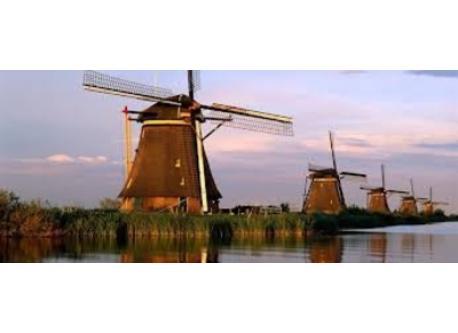UNESCO World Heritage: Windmills of Kinderdijk