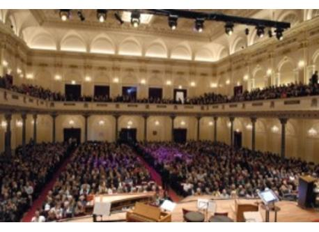 For concerts: Concertgebouw