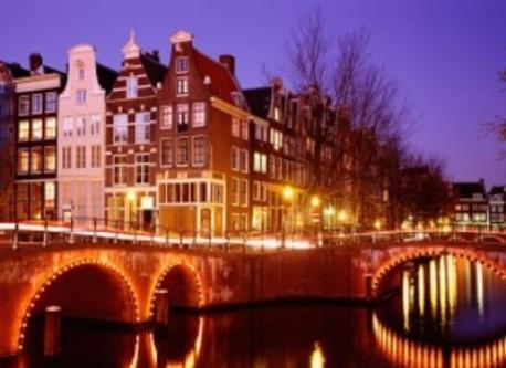 Amsterdam, easy to go to by car or train.