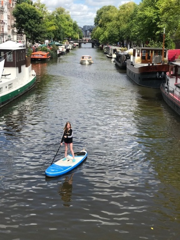 Liv on the sup