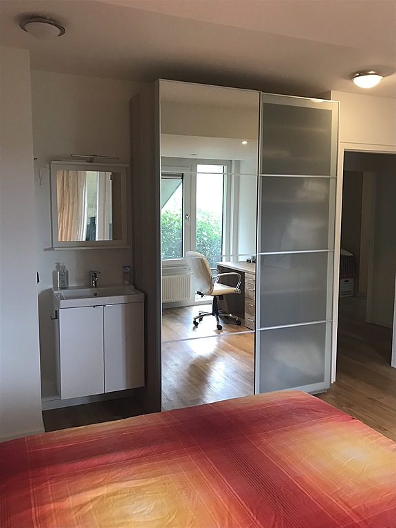 Cupboard and washstand