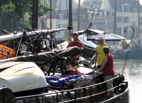 Museum harbour of Gouda