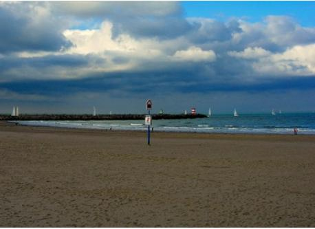 The Northsea coast: 37 km from our House