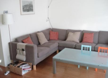 Living room sofa.