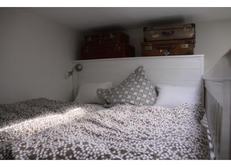 big bed (upstairs)