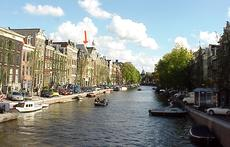 Prinsengracht, center Amsterdam