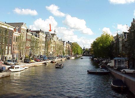 Prinsengracht, center Amsterdam