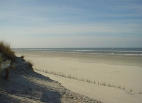 Beach on Ameland, where are the people gone?