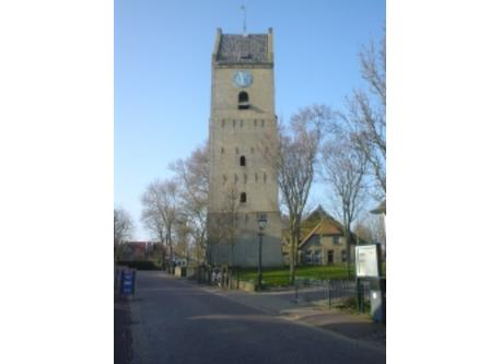 Old tower in Nes