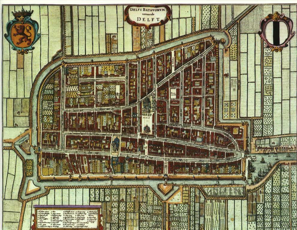 Delft; an historic city