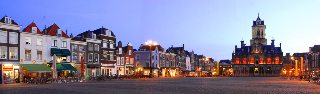 Marketsquare in Delft
