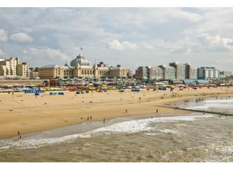 Beachresort Scheveningen (northsea) within 45 min by public transport from our house