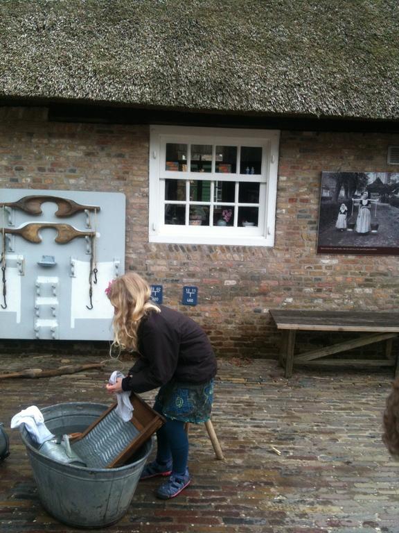 Lilja at the 'Openlucht Museum' Arnhem
