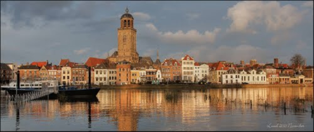 Deventer at 30km or .50 min by train.