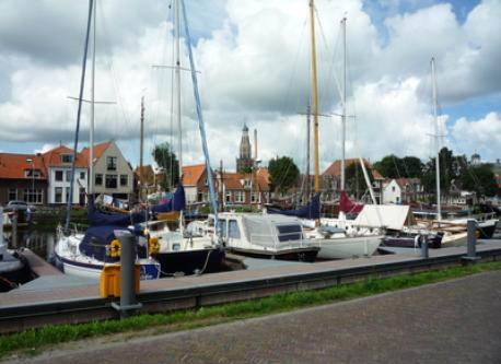 harbour of Enkhuizen