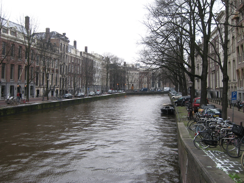 Canals at the front and the back